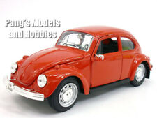 Volkswagen (VW) Classic Beetle 1/24 Scale Diecast Metal Model by Maisto - Red
