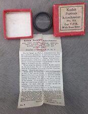 Vintage Kodak Portrait Attachment No 8a in Original Box With Instructions