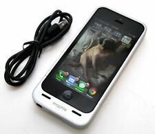 GENUINE Mophie Juice Pack Helium Apple iPhone 5/5s/SE Battery Case White