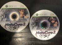 MagnaCarta (Microsoft Xbox 360, 2009) 2 DISCS FAST FREE SHIPPING