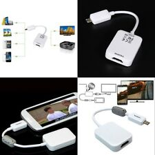 Micro USB to HDMI HDTV Smart MHL Adapter for Samsung Galaxy S3 S4 i9508 i Gift