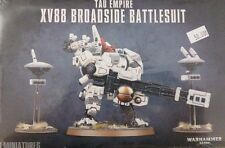 Warhammer 40K TAU EMPIRE XV88 BROADSIDE BATTLESUIT & drones, new