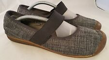 KEEN WOMAN SHOES MARY JANES DENIM GRAY 42/11