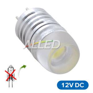 12V LED G4 Replace Bulb 1.5W Cool White Jayco-reading light Caravan Table Lamp