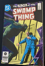 DC Saga Of The Swamp Thing #21 2nd Alan Moore 1984 N/M Bag And Boarded