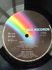 IRON BUTTERFLY: SCORCHING BEAUTY  1975 LP  MCF2694  EX    Erik Braunn