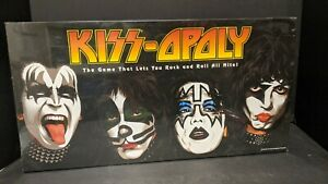 KISS-OPOLY - NEW SEALED - KISS Band Themed Monopoly Style Board Game 2003 Rock