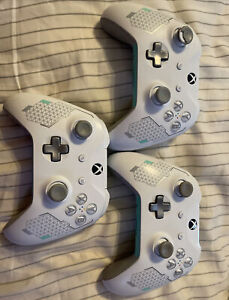 3 Xbox One Special Edition Wireless Controller - Sport White For Parts
