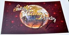 """Louise Redknapp & Danny Mac Signed 12""""x8 Colour Photo Strictly Come Dancing 2016"""