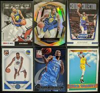 Lot of (6) Kevin Durant, Including Select silver, Elite Series & other inserts