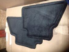 Factory ebony second row floor mats Chevrolet Silverado 1500 2500 3500 Tahoe sub