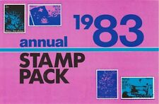 MINT 1983 PAPUA NEW GUINEA PNG ANNUAL STAMP PACK MUH