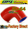 "RE 2""-2.5"" 51mm to 64mm Silicone 90 Degree Elbow Reducer Pipe Hose INTERCOOLER*"