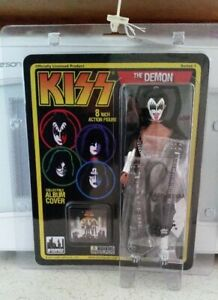 Kiss Action Figure Toy Gene Simmons Deluxe Variant Doll Series 1 (09)