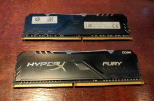 HP37D4U1S8ME-8XR 2x8GB RAM  16GB DDR4 RGB 3200 Hyper X Fury Omen 25l M27304-001