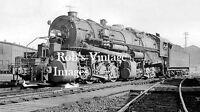 New York Central  photo Steam Locomotive 9090 Train  NYC Railroad 0-8-8-0 1930s