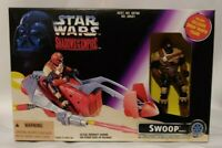 STAR WARS SHADOWS OF THE EMPIRE SWOOP VEHICLES WITH TROOPER ACTION FIGURE 1996