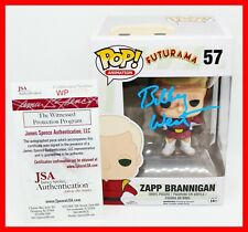 Rare Billy West Signed Zapp Brannigan Autographed Futurama Funko POP JSA PSA