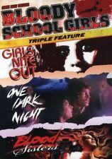 Bloody School Girls- DVD Girls Nite Out / One Dark Night /Bloody Sisters NEW OOP