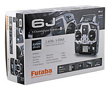 BRAND NEW FUTABA 6J COMPUTERIZED 2.4GHZ SFHSS R2006GS S3004 X4 SERVOS FUTK6001