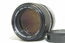 Canon FD 85mm f/1.8 S.S.C. MF Prime Lens SN10965 from Japan