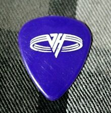 Van Halen // Michael Anthony 1991 Tour Guitar Pick // Purple/White sammy hagar