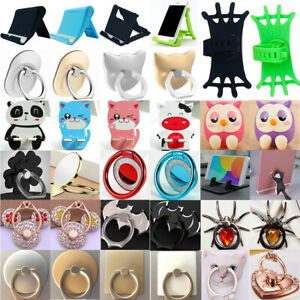 360° Rotating Finger Grip Ring Stand Holder Mount for Mobile Phones Tablets