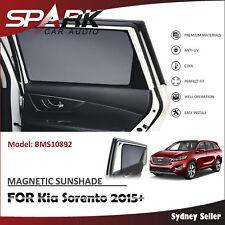 CT MAGNETIC CAR WINDOW SUN SHADE BLIND MESH REAR DOOR FOR Kia Sorento 2015+