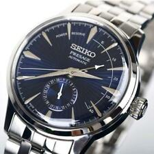 NEW SEIKO Presage SSA347J1 Auto Cocktail Blue Moon Power Reserve Japan 40.5mm
