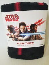 "Star Wars Plush Throw (Blanket) 46"" X 60"" - NEW"