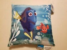 "Disney Pixar Finding Nemo Throw Pillow Nwt 12""X12"" Free Shipping"