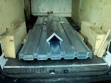 Roofing sheets, new box profile galvanised steel, heavy duty,10ft lengths, £15.