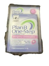PlanB One-Step Levonorgestrel 1.5mg - 1 Tablet   Emergency Contrsceptive Sealed