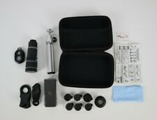 Cell Phone Camera Lens Kit, 11 in 1 Universal 20x Zoom Telephoto Lens, 0.63Wide