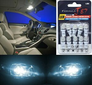 LED 5050 Light White 6000K 194 Ten Bulbs License Plate Tag Upgrade OE SMD JDM