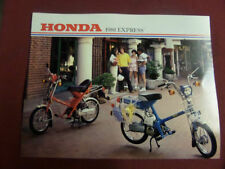 Honda Motorcycle Manuals & Literature Brochures