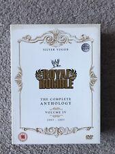 Royal Rumble Anthology Vol. 4 WWE WWF 2003 - 2007 DVD Box Set