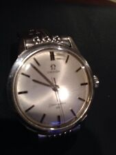 Rare 1960s Vintage SWISS OMEGA Seamaster 30 Manual Wind Mens Watch...Works Great