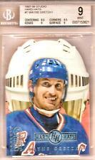 Wayne Gretzky Graded 1997-98 Donruss Studio Hard Hats Card #1 9 Mint