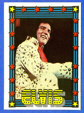 1978 Monty Gum ELVIS PRESLEY card from Holland (blank back)                    d
