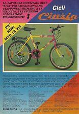 X7084 cycles Cinzia-Mountain Bike Kiwi-Advertising 1990-Advertising