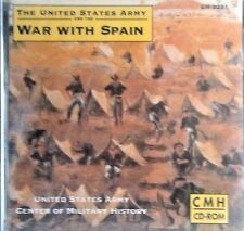 NEW! United States Army and the War with Spain (2005, CD-ROM)