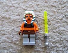 LEGO Star Wars Clone Wars - Rare Jedi Ahsoka Tano w/ Lightsaber - 7751 8898