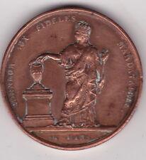 """Médaille Charles X, """"AUX ELECTEURS CONSTITUTIONNELS 1830"""""""