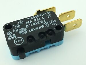 4 x Snap Action Micro Switches by Coruzet SP4101 250V 16A SPDT Limit Switch
