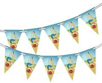 Cricket - Bunting Banner 15 flags National Sport Celebration  by Party Decor