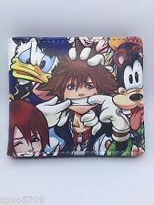 Kingdom Hearts Sora kid's wallet PU Leather Purses WALLET boy's girl's gift