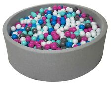 Piscina infantil para niños de bolas pelotas 1200 piezas, diámetro 125cm