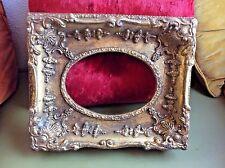 Vintage Wood wooden picture Frame Antique Ornate Victorian Gold Gilt