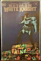 DC Comic BATMAN WHITE KNIGHT #1 Foil Variant NM NEO JOKER HARLEY CATWOMAN GOTHAM